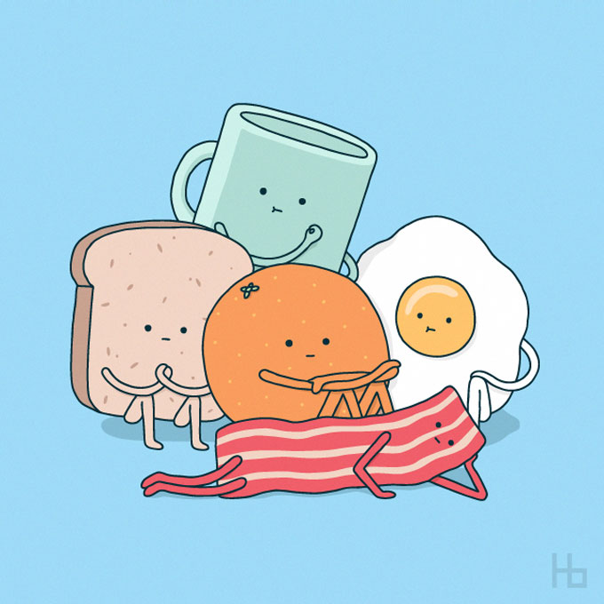 As divertidas ilustracoes de Jaco Haasbroek
