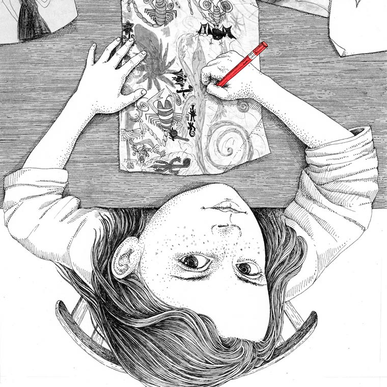 My Childhood - The beautiful and poetic illustrations by Sveta Dorosheva