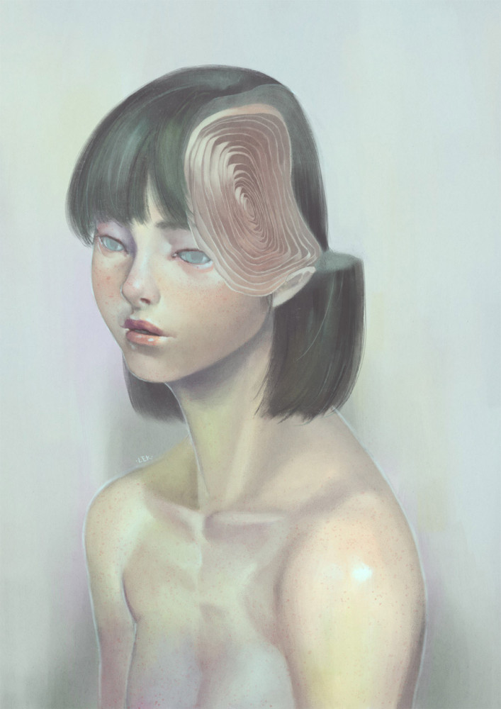 Surreal Portraits by Lek Chan