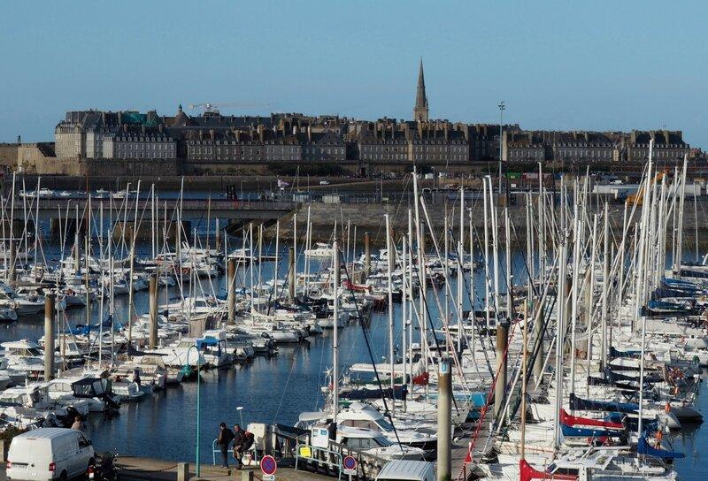 Лодки в Сен-Мало (Boats in Saint-Malo)