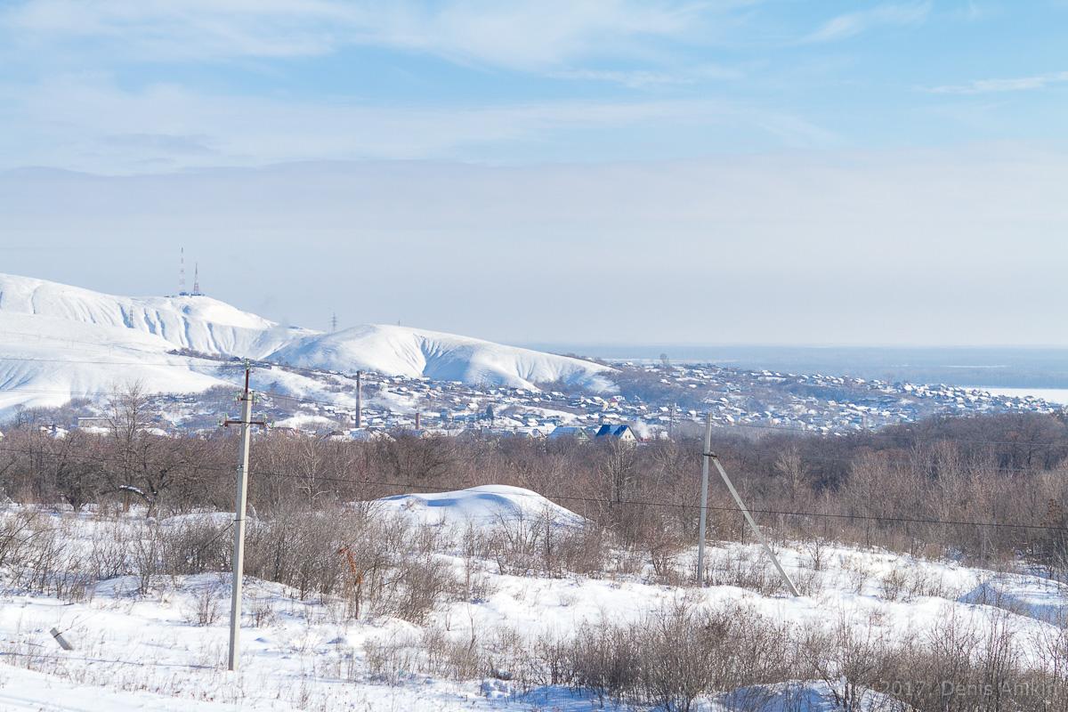 Вольск зима горы фото 3
