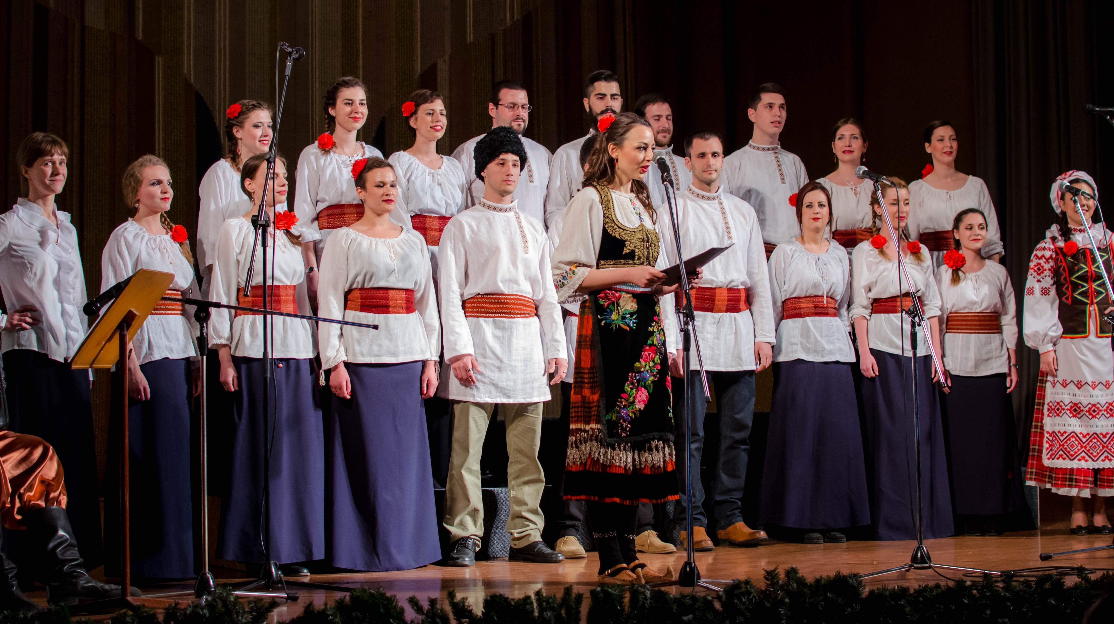 Сербия, музыка, хор