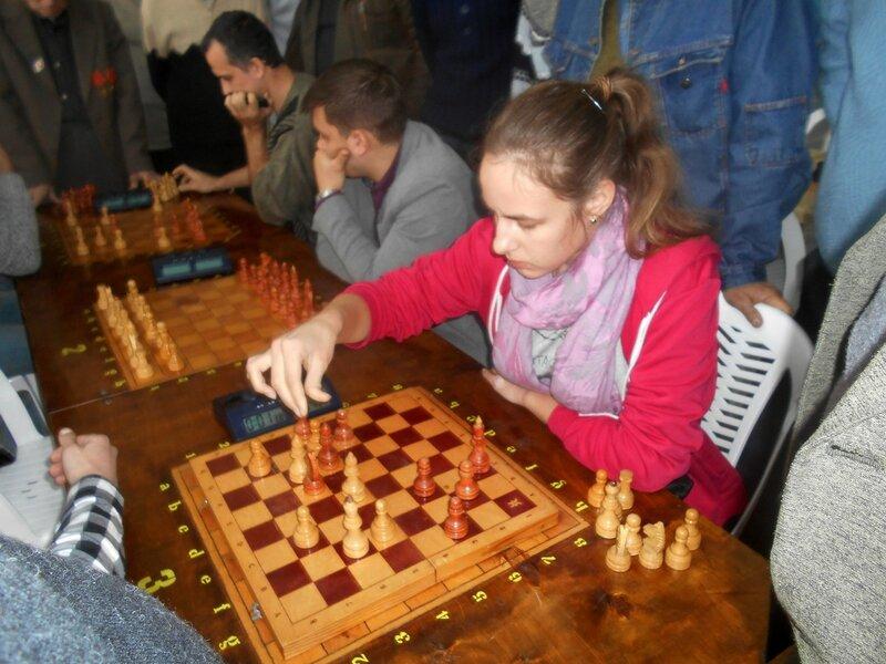Быстрое решение ... Шахматный турнир. Выселки. Декабрь 2016