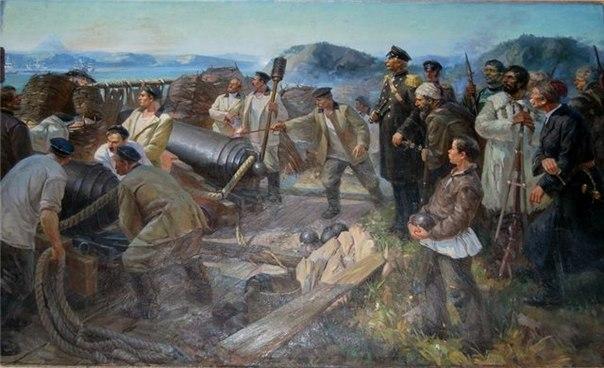 Героическая оборона Петропавловска