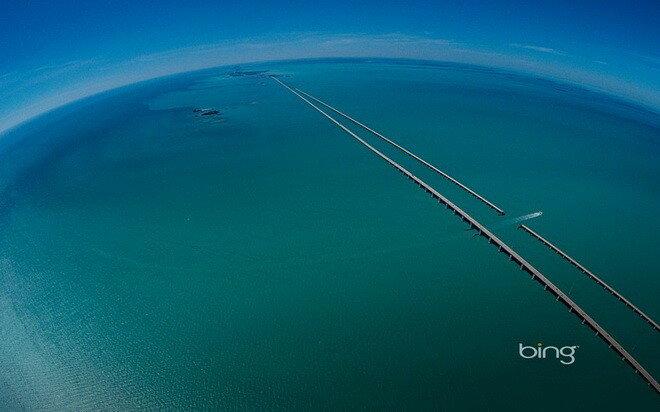 Мост Семи Миль. Флорида, США