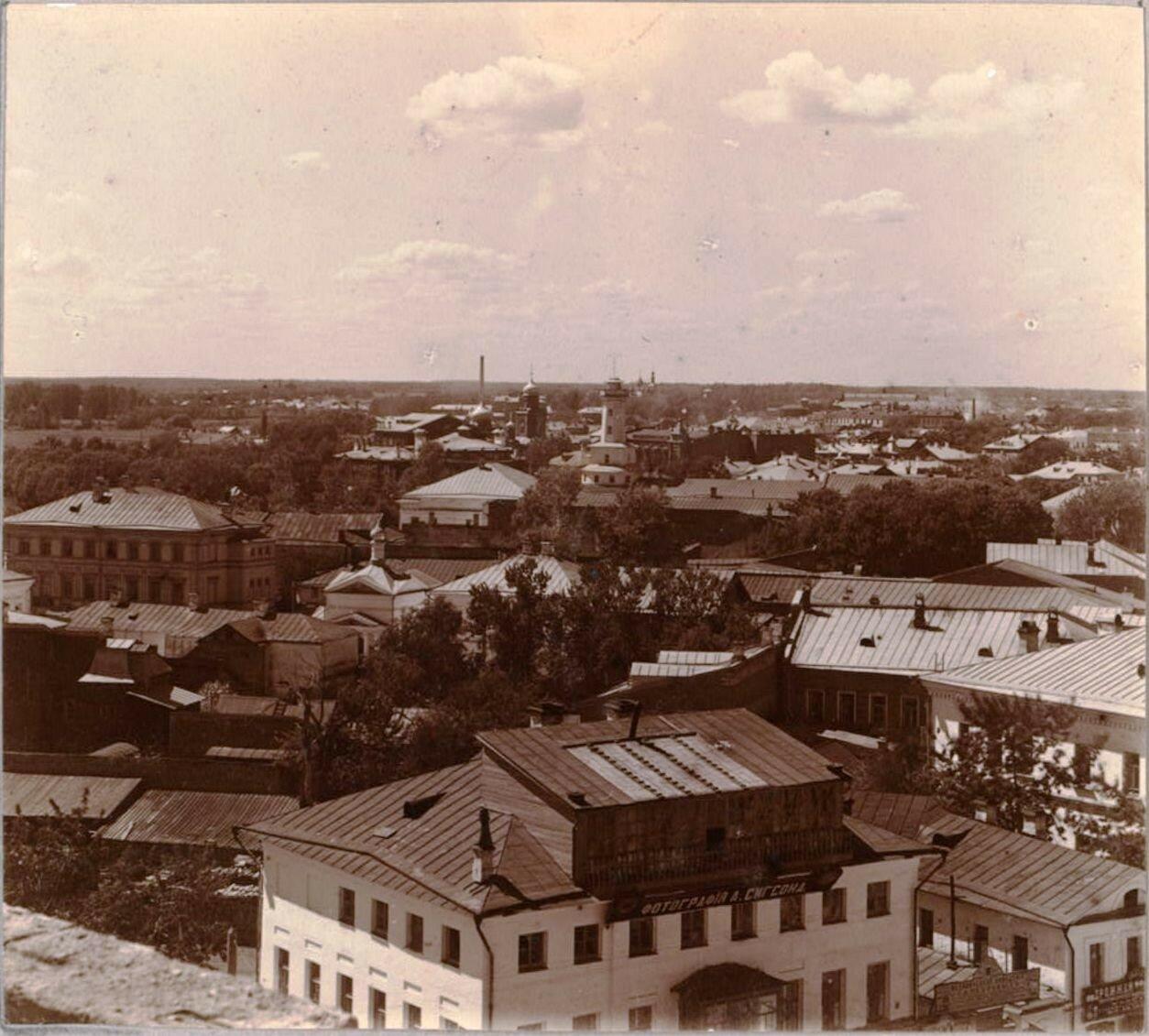 Город Рыбинск с севера