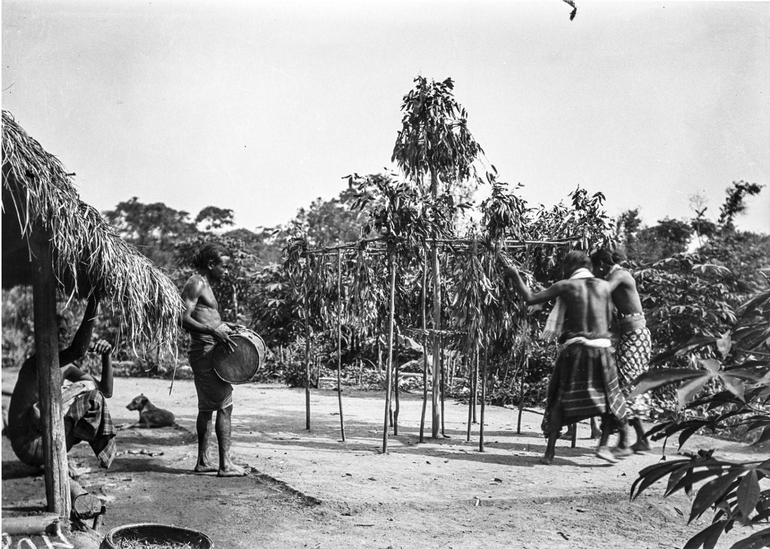 392. Мадугалла. Ритуальный танец лесных веддов