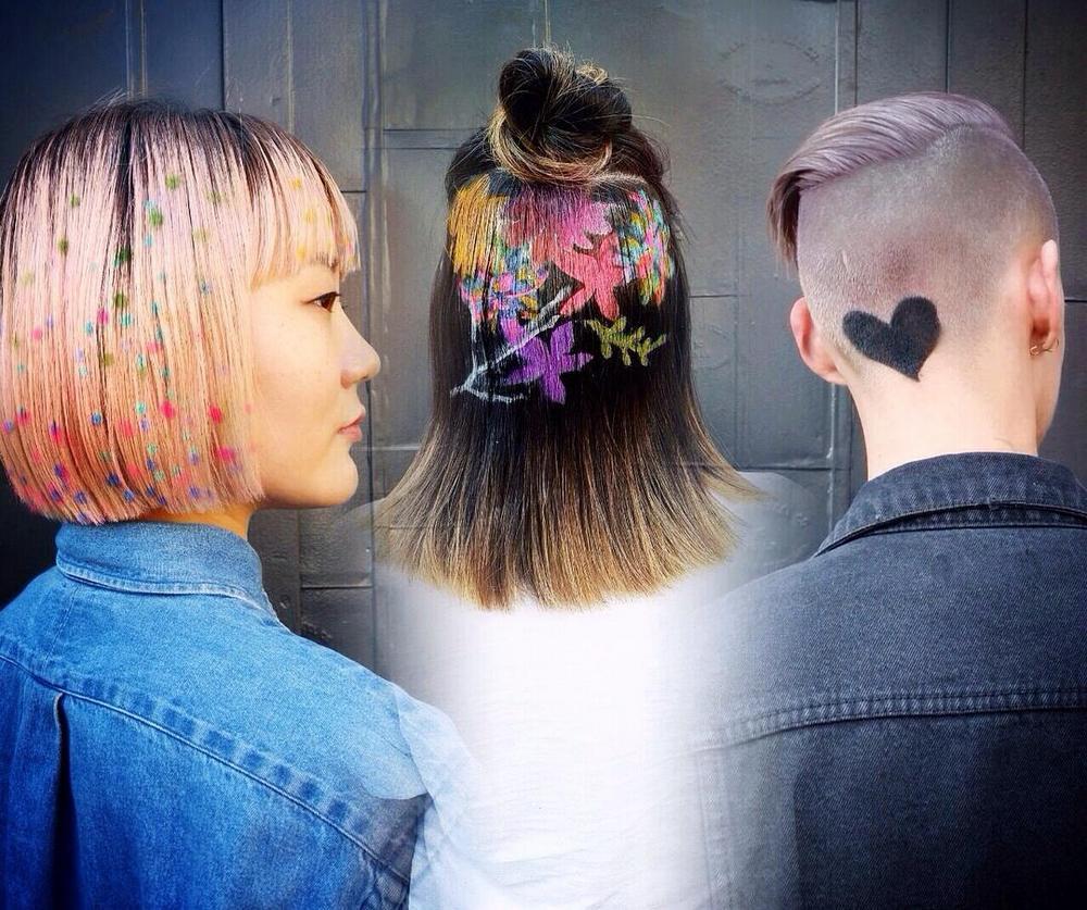 Новый модный тренд Instagram: #hairstencil
