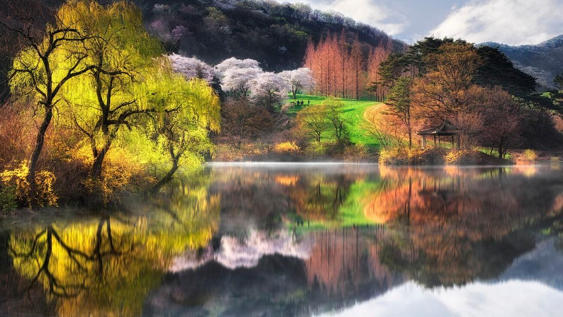 Замечательные пейзажи на снимках Чжэ Юн Рю