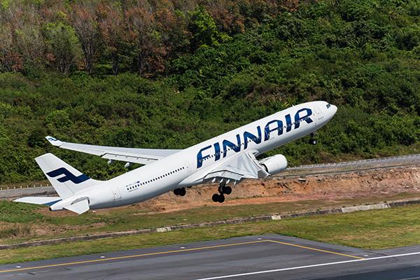 Finnair назвали самой «зеленой» авиакомпанией