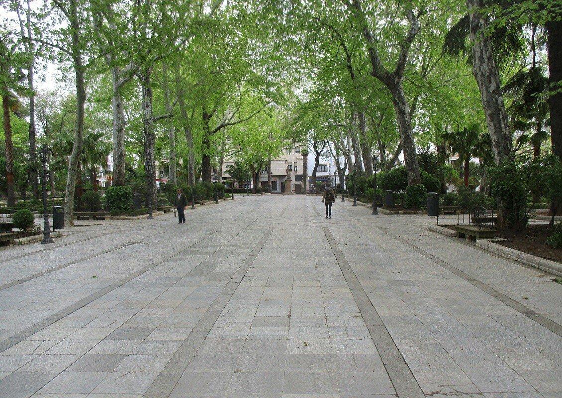 Ронда. Парк Аламеда-дель-Тахо (Alameda del Tajo)