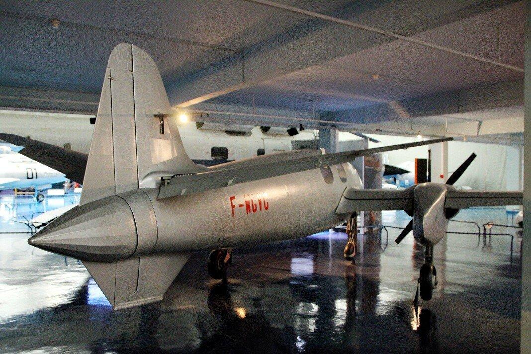 Музей авиации в Ле Бурже. Экспериментальный самолёт Hirsch H.100