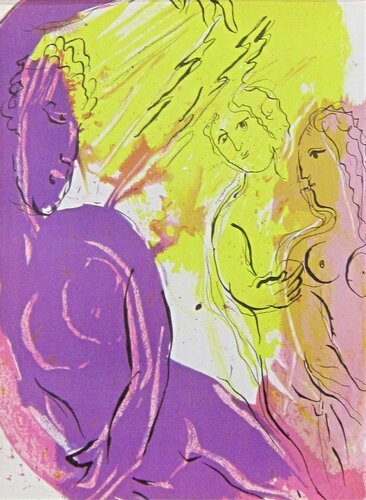 Марк Шагал. Ангел рая.