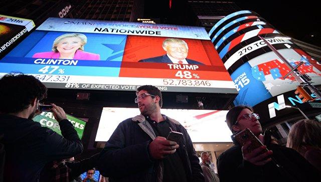 NBC поведал оличном вмешательстве В. Путина впрезидентские выборы США