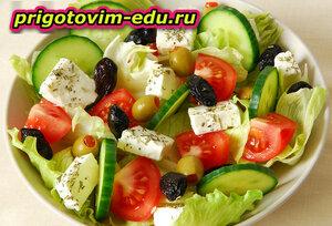 Греческий салат по уральски