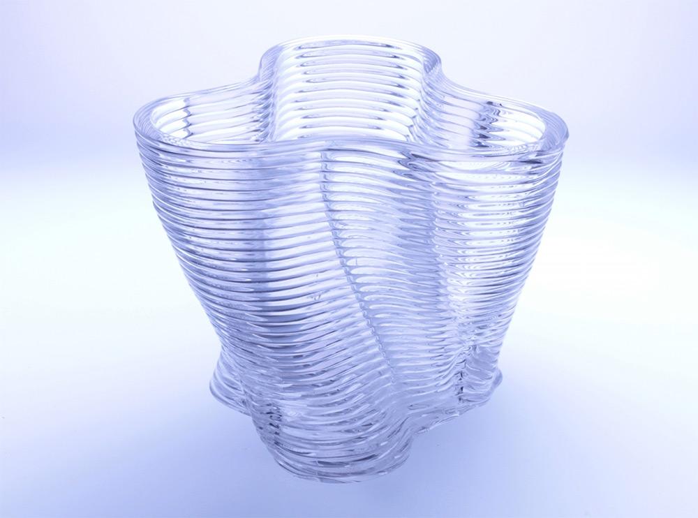 3D printed glass structure. Photo: Chikara Inamura.