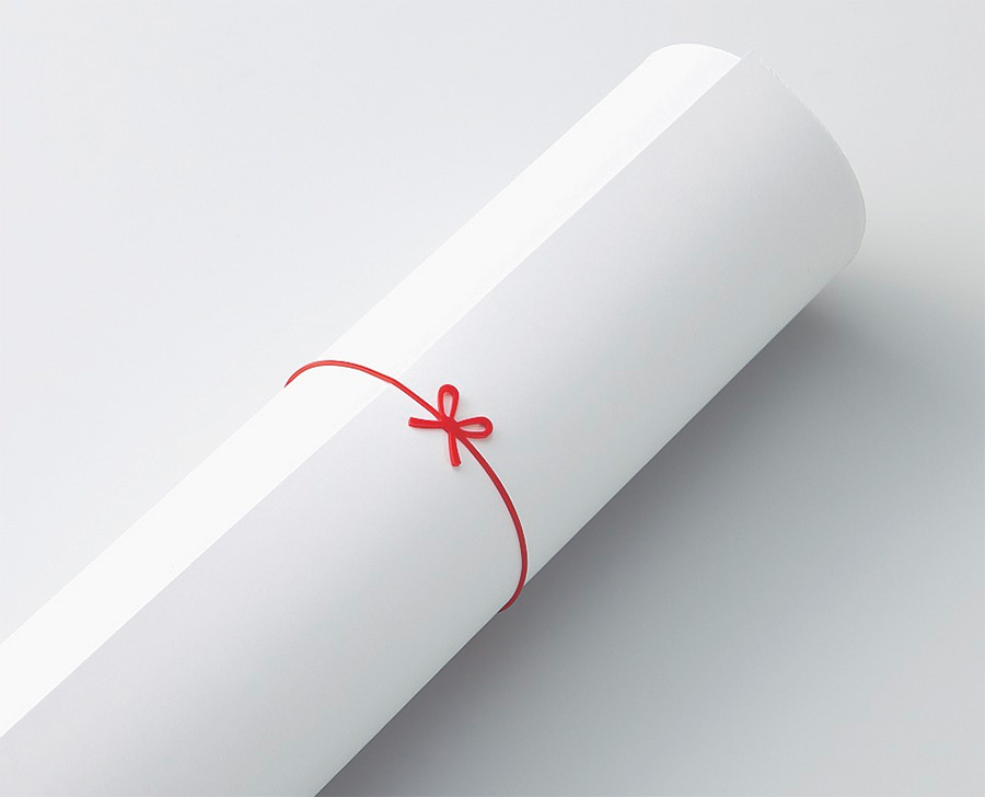Rubber Bands with a Bow: The Art of Japanese Packaging Simplified