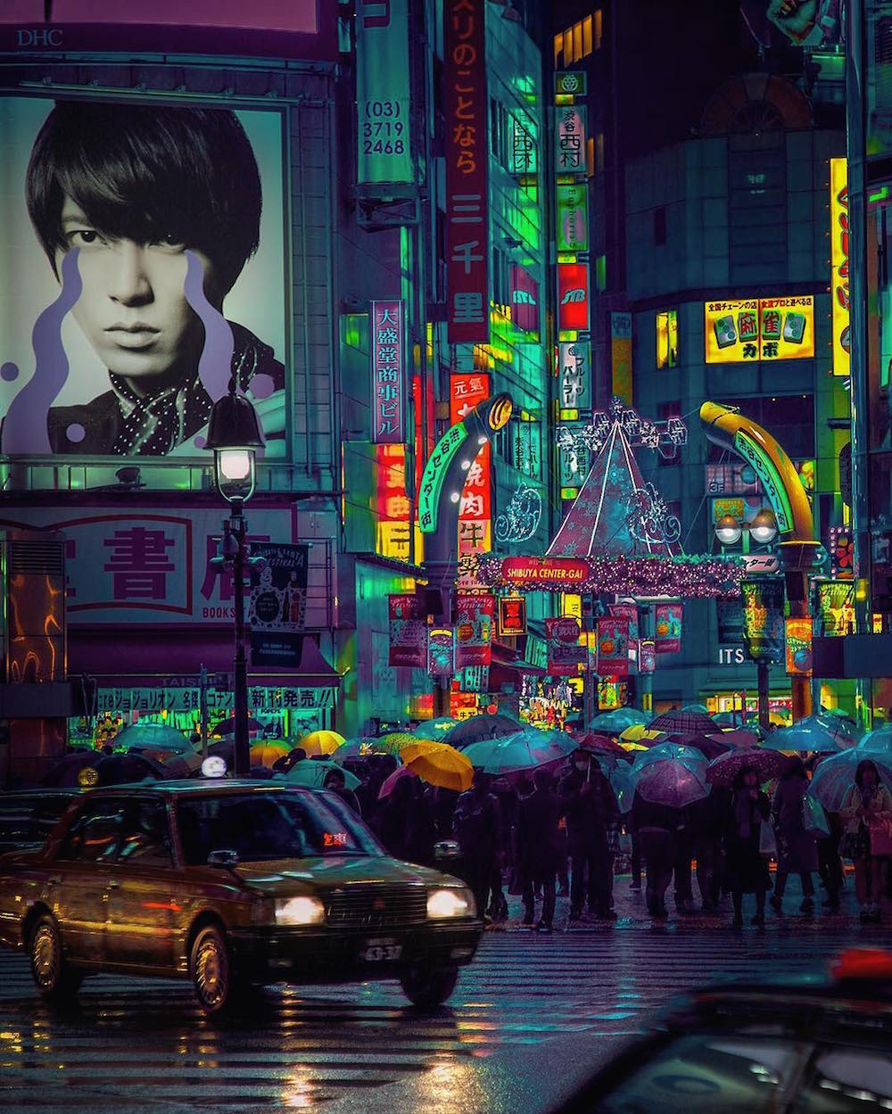 The Neon Glow of Tokyo and London's Nightlife Captured by Liam Wong