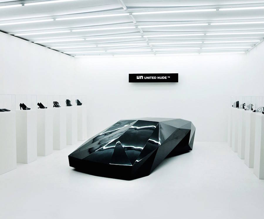 Lo Res Car by United Nude