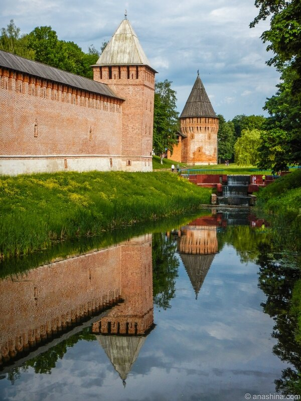 Громовая башня и башня Бублейка, Смоленск