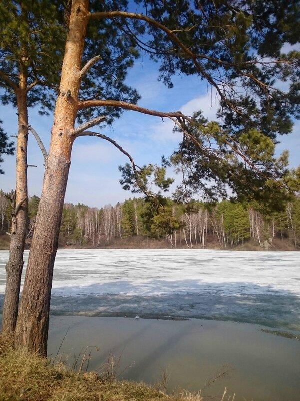 Россия, озеро возле села Карпысак (Russia, a lake near the village Karpysak)