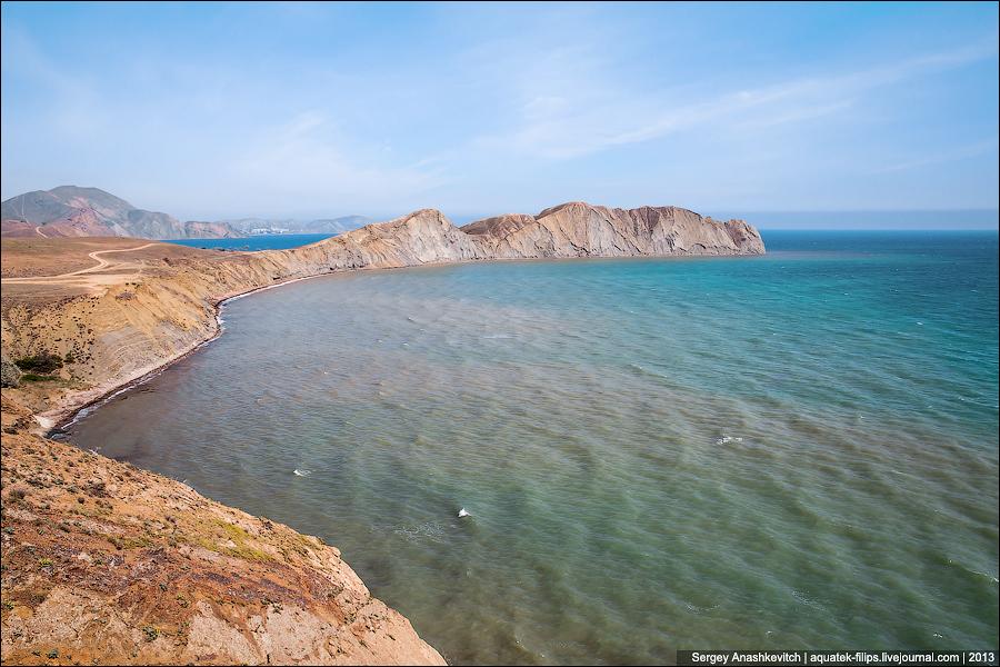 В Крыму обвалился знаменитый мыс Хамелеон