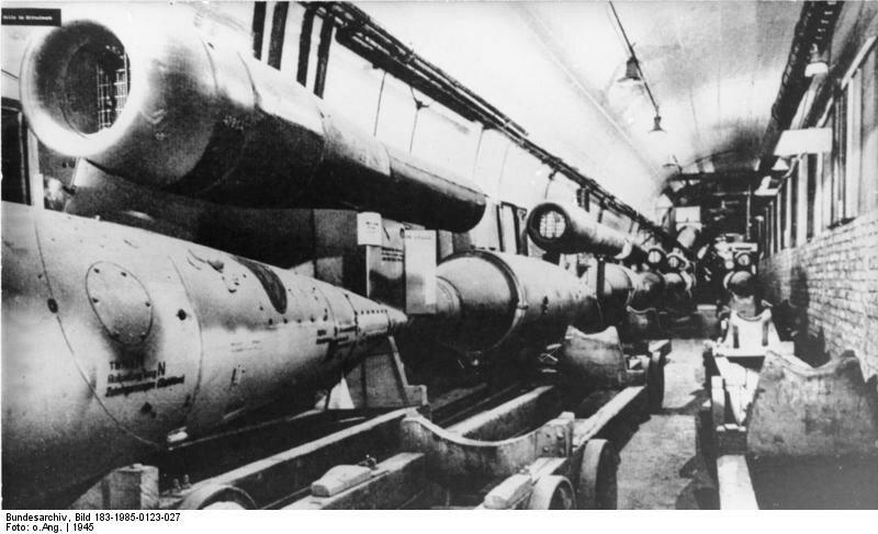 KZ Mittelbau-Dora, Produktion von V 1