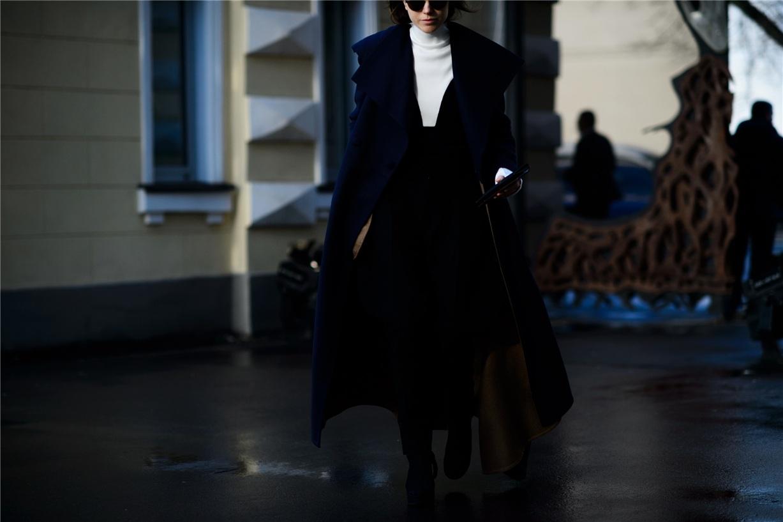 Уличная мода Киева - Лилия Литковская / Lilia Litkovskaya - Ukrainian Fashion Week Fall 2016 Street Style by Adam Katz Sinding