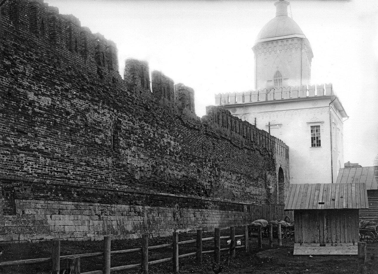 Крепостная стена и Молоховские ворота. 1912