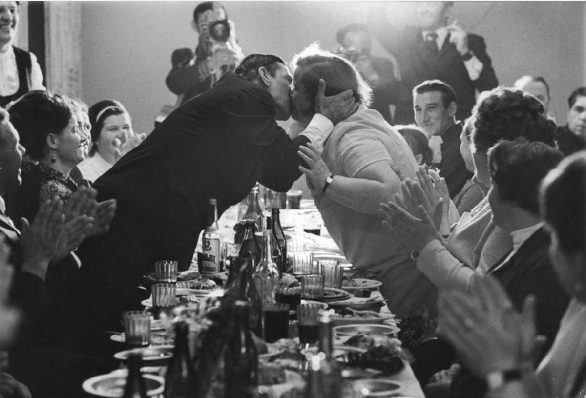1969. «Золотая свадьба» у строителей