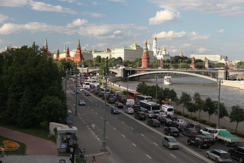 Москва, пробка