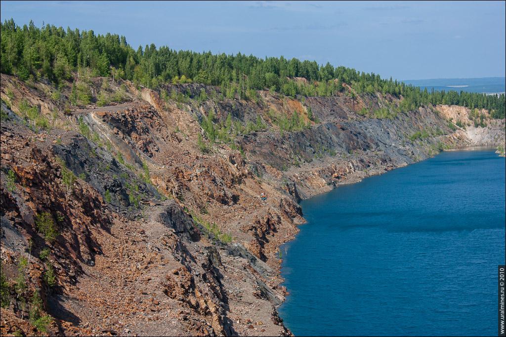 Динасовый карьер Гора Караульная Первоуральск