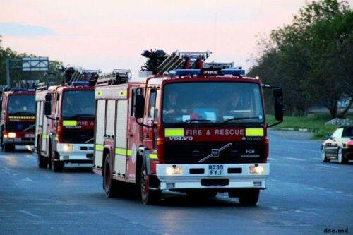 Великобритания направила четыре пожарных машины в Молдову