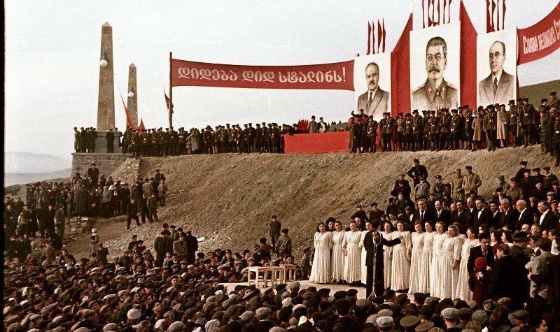 1951, 4 ноября, Открытие Верхне-Самгорского магистрального канала. Владислав Микоша1.jpg