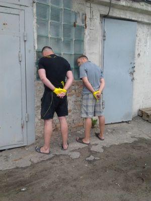 Антинаркотическая акция в Харькове