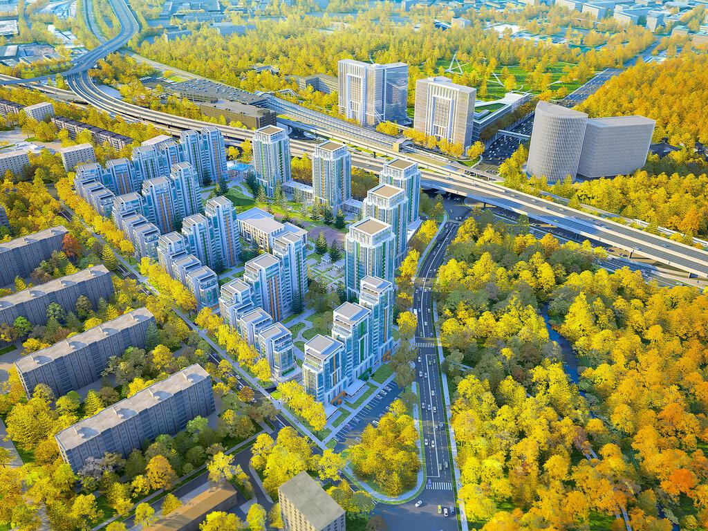 Общий план будущего района