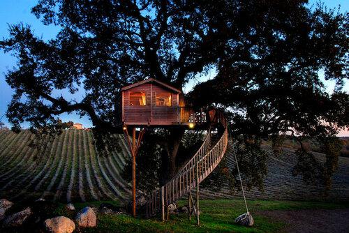 Маленький отель среди лавандовых полей