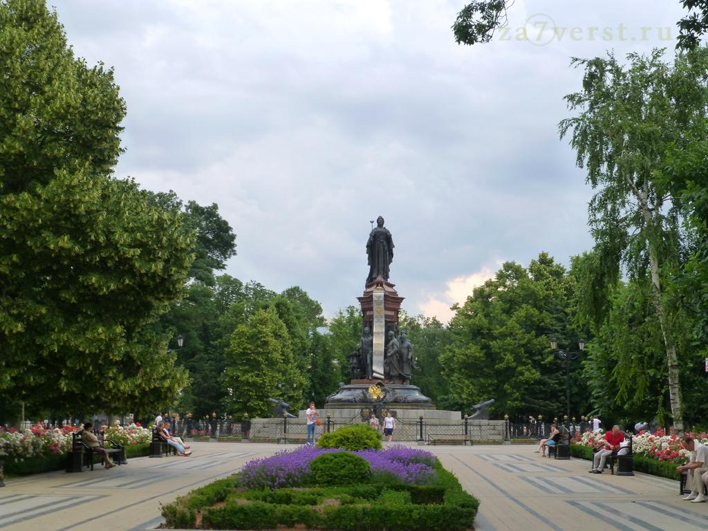 Краснодар, Памятник Екатерине Великой в Екатерининском сквере