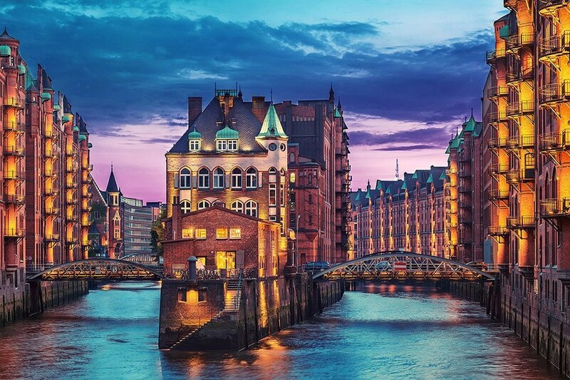 Яркие городские пейзажи Маттиаса Хакера (фото)