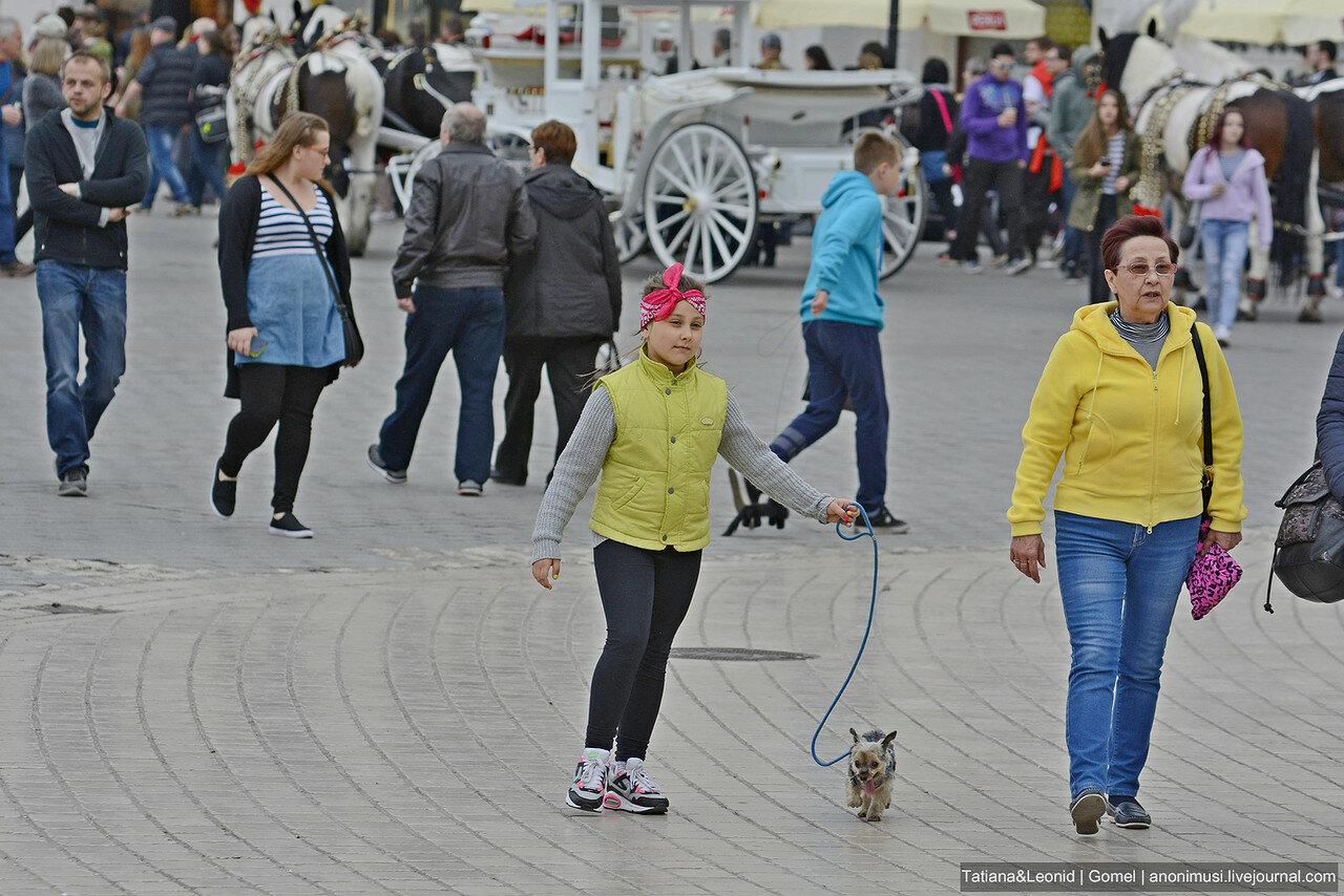 Жители Кракова