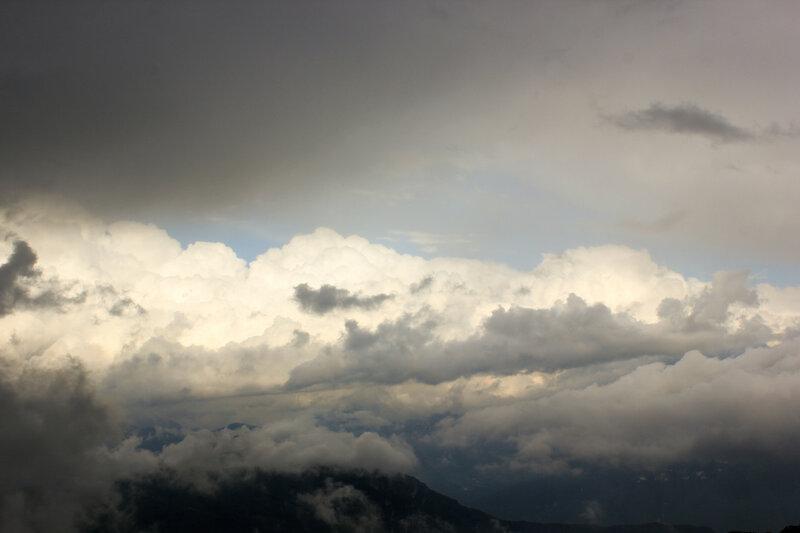 Вид с вершины горы