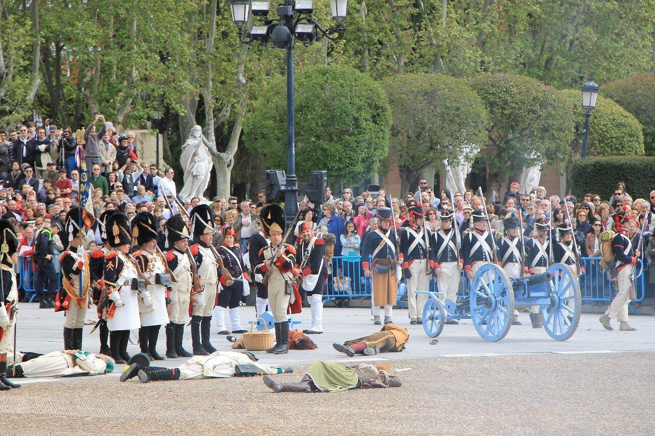 Историческая реконструкция мадридского восстания 2 мая 1808 года