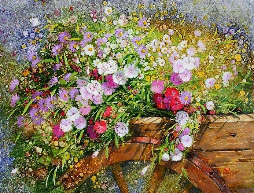 Прекрасные картины от Японского художника Yi Seong-bu