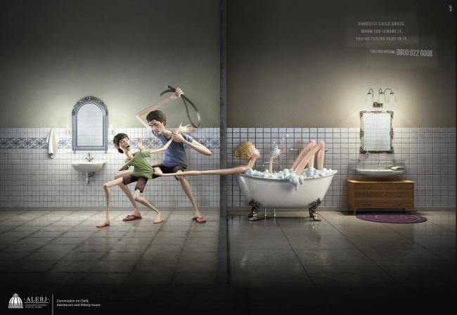 Игнорируя домашнее насилие, выпринимаете внем участие.