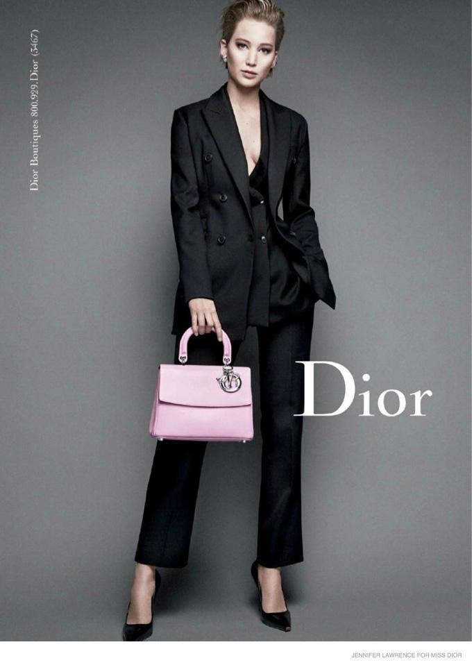 Дженнифер Лоуренс в фотосессии Miss Dior