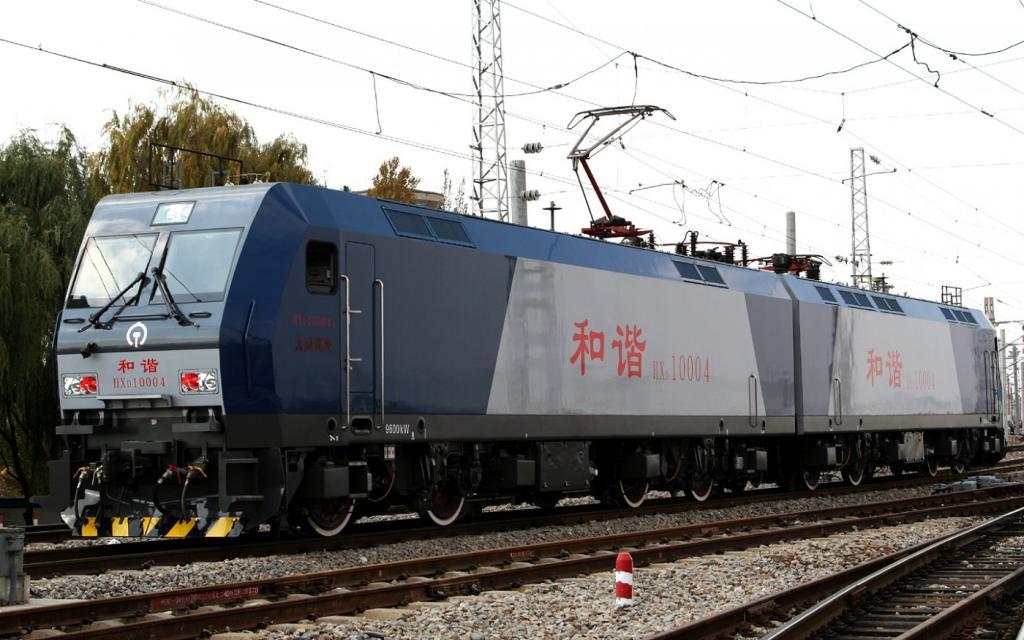 ????? / CC BY-SA 3.0 3 место. China Railways HXD2, Китай — 13,410 л.с.
