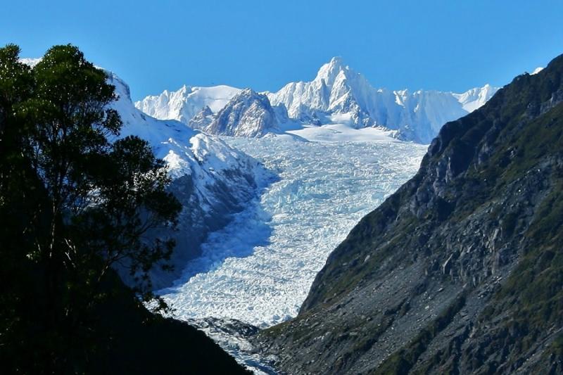 Самые красивые крупнейшие ледники мира: Фокс, Новая Зеландия
