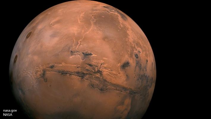 НаМарсе обнаружили подледные вулканы