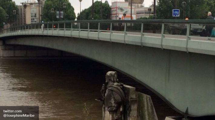 Из-за наводнения закрыли Лувр— Потоп встолице франции