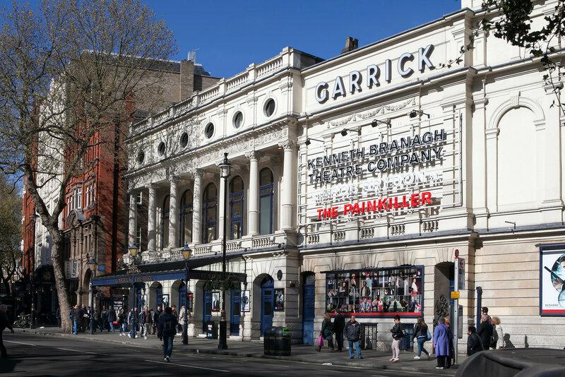 he Garrick Theatre in London